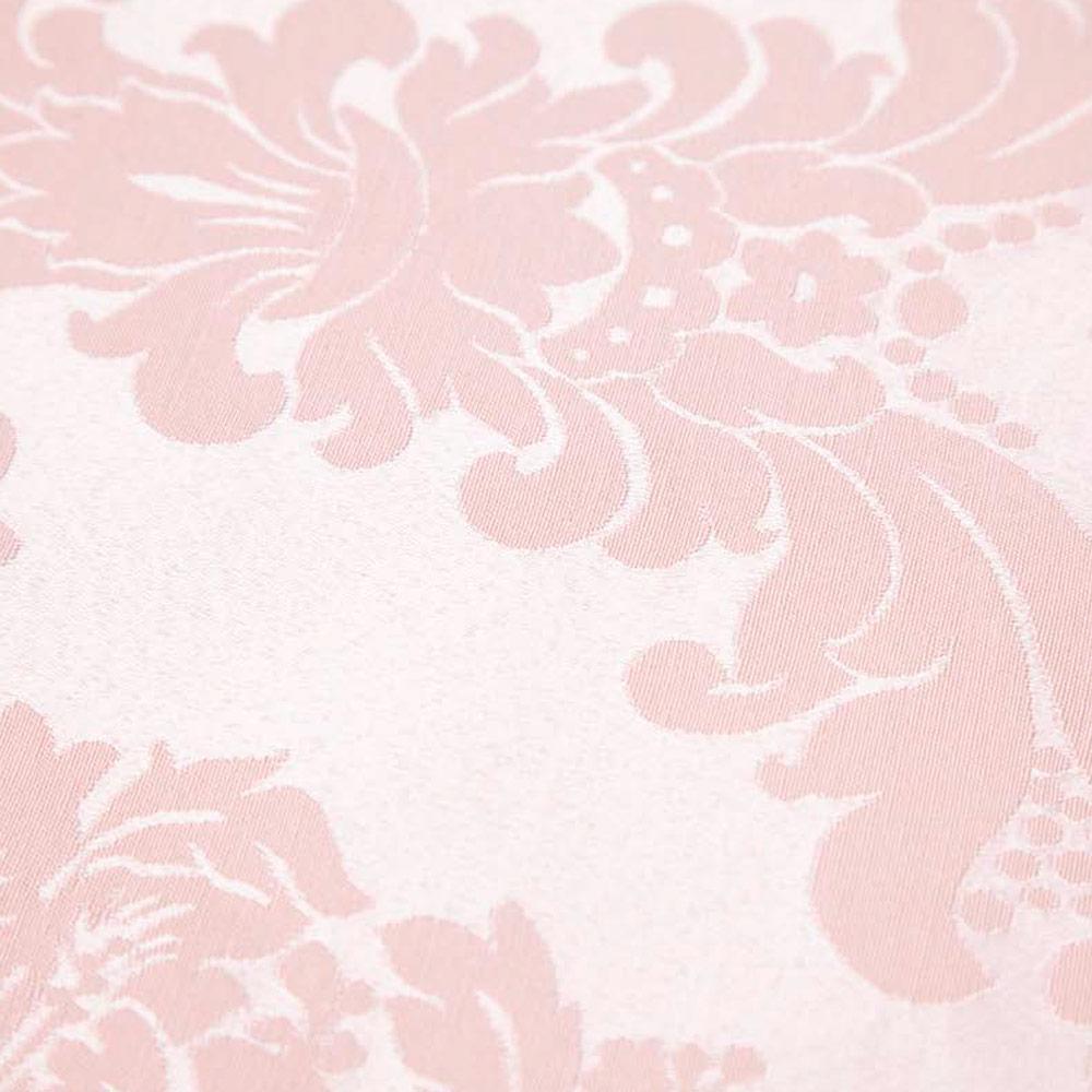 Cubre-mantel-brocado-rosa