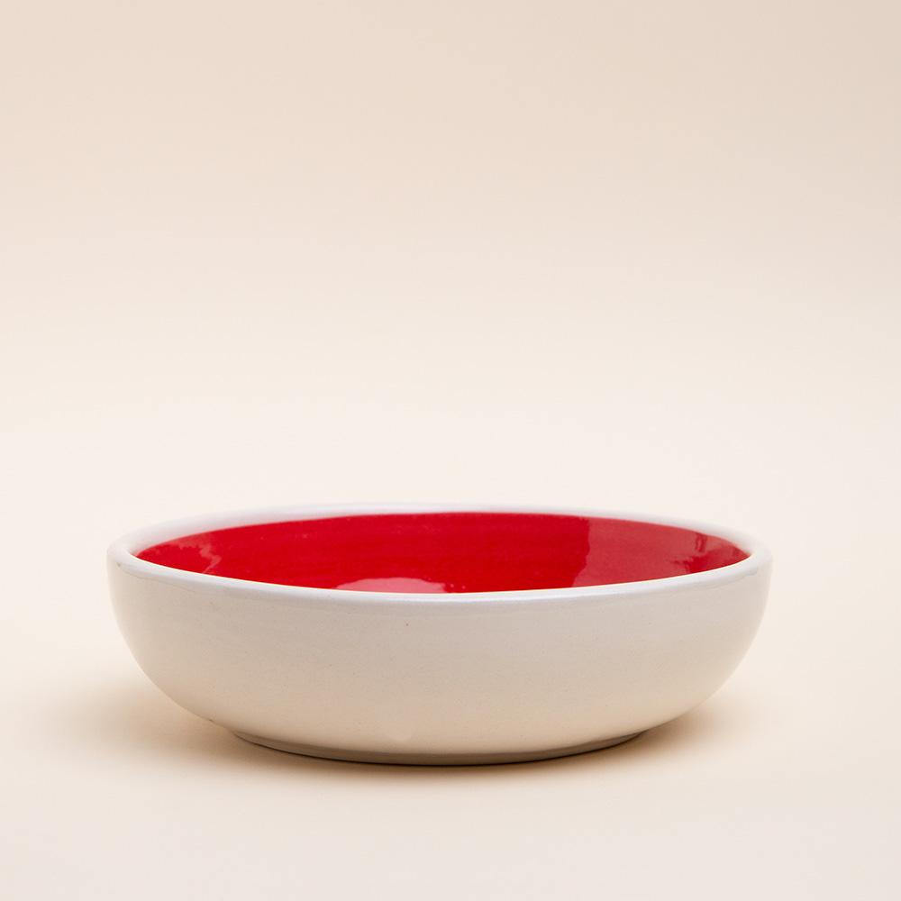 Cuenco-barro-blanco-rojo